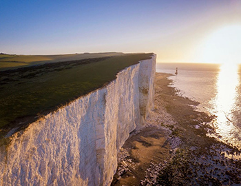 Beachy Head at Sunset
