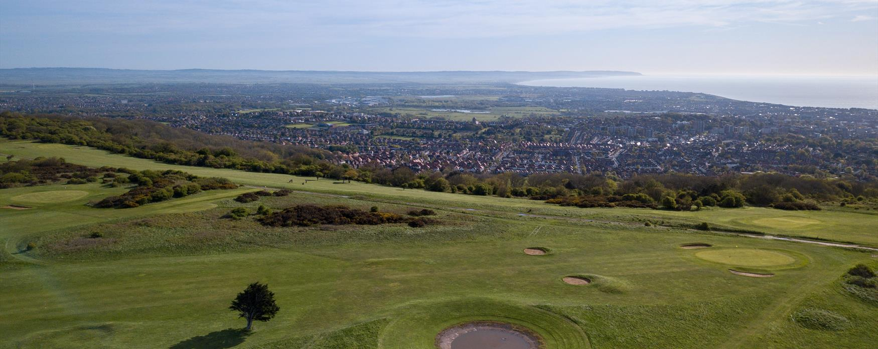Play golf whilst enjoying the best views in Eastbourne!