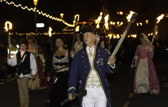 Eastbourne Bonfire Procession