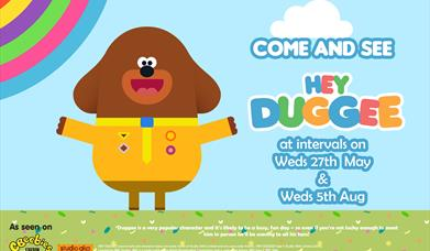 Hey Duggee at Drusillas Park
