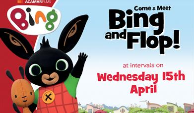 Bing and Flop! at Drusillas Park