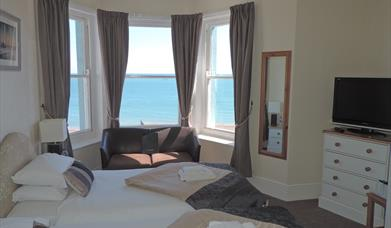 Superking Sea View Room