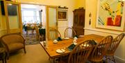 The Sherwood Guest House Dining Room